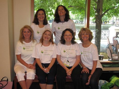 Green moms at BlogHer
