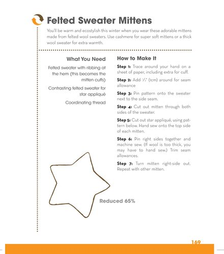 Sweater mittten cropped