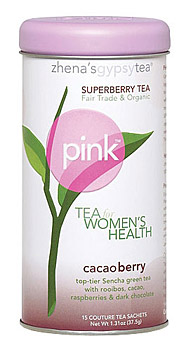 Pink tea cacaoberry