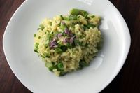 Dana treat spring risotto