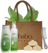 Babo Botanicals Green-Gift-Set