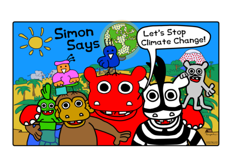 Simon Says Climate Change DVD
