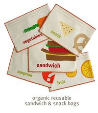 Graze organic sandwich bags