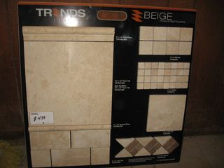 Travartine tile