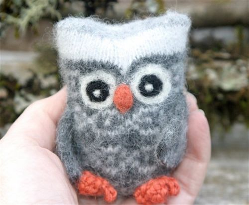 Woolcrazy Tiny Spotted Owl