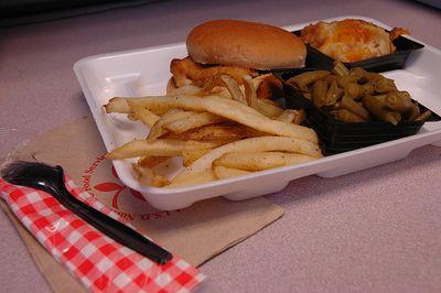 School lunch by bookgrl via flickr