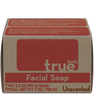 True body facial soap