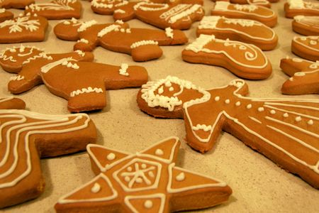 Gingerbread cookies _ deborah.soltesz via flickr