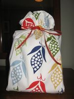 Dishtowel wrap
