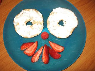 Fun food - bagel