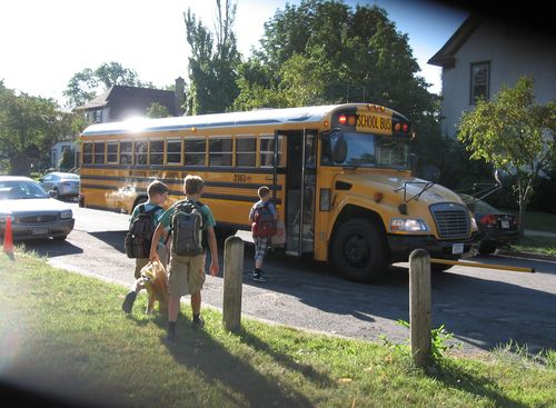 School bus Drew