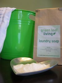 Green Leaf Living laundry soap