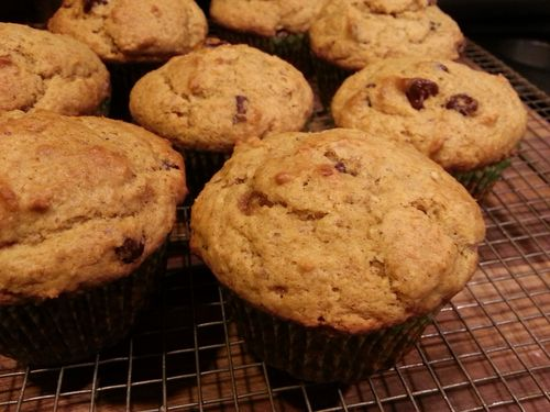 Sneaky squash muffins