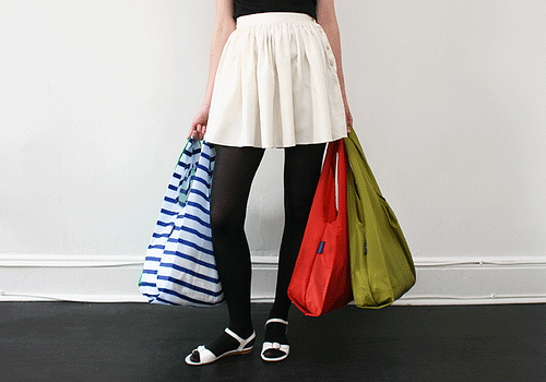 Reusable bags by andrewarchy via flickr