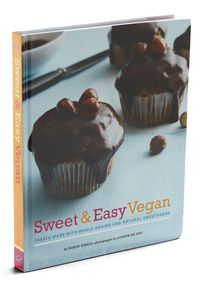 Sweet & easy vegan book cover