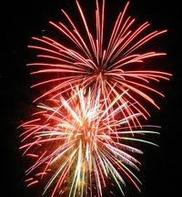 Fireworks by stintje via flickr
