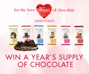Chuao Chocolates Sweepstakes