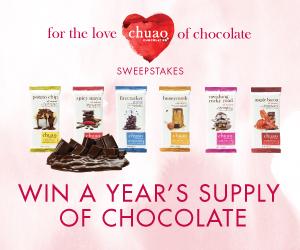 Chuao Chocolates Sweepstakes
